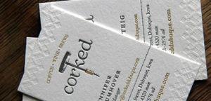 carte de visite corcked